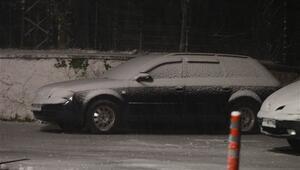 İstanbulun yanı başına kar yağdı