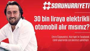 #SoruHürriyeti - 30 bin liraya elektrikli araba alır mısınız