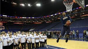 NBA'den bir ilk Genç yetenekler...