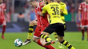 Bayern Münih kupada da doludizgin B.Dortmundu da...