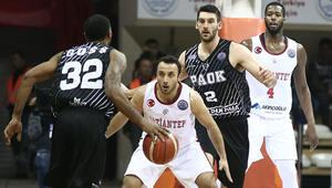 Gaziantep Basketbol uzatmada kaybetti