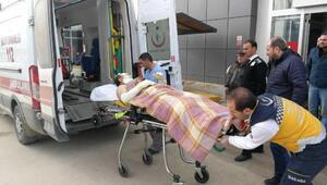 Muhasebe bürosunda gaz sıkışması patlaması: 1 yaralı