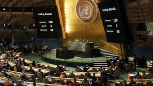 Son dakika Kudüs oylamasında hangi ülke ne oy verdi