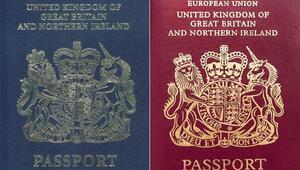 Birleşik Krallık pasaportları Brexit sonrası lacivert olacak