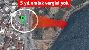 İstanbulda dikkat çeken ilan Denize nazır üçgen arazi gökdelene uygun