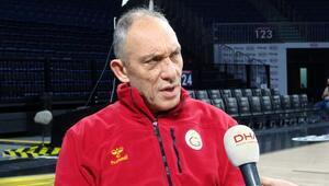 (özel) Galatasaray Odeabank Başantrenörü Kunterden gündeme dair önemli açıklamalar