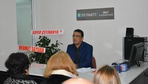 İYİ Parti İlçe Başkanı Kayhan: Mut İYİ olacak