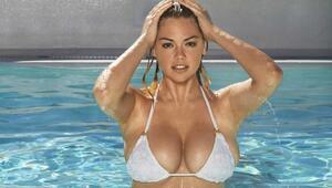Dünyaca ünlü model Kate Upton tenis oynarsa...