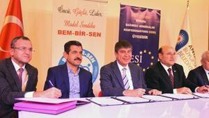 Büyükşehirde sosyal denge tazminatı sözleşmesi imzalandı