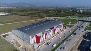 Türkiyenin en büyük atletizm salonunda sona yaklaşıldı