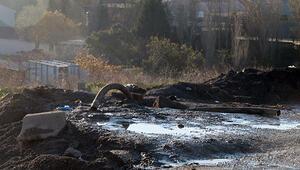 Tuzlada uçucu kimyasalları kanalizasyona boşaltmışlar