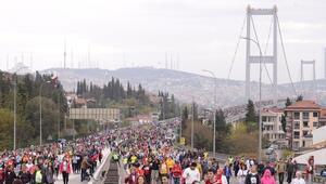 Vodafone 39. İstanbul Maratonu'nda bağış rekoru kırıldı
