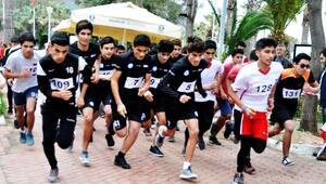 Bodrumda öğrenciler Atatürk için koştu