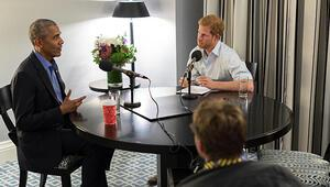 Eski Başkan Obama, Prens Harry'ye konuştu... Trump'a örtülü gönderme