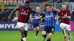 Milan derbiyi kazandı yarı finale kaldı Interi devirdi...