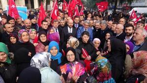Ofta, İçişleri Bakanı Soyluya destek yürüyüşü