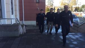 Polise mukavemetten gözaltına alındı