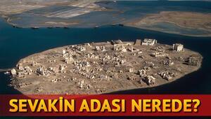 Sevakin Adası nerede yer alıyor Sudan Sevakin Adasının yüzölçümü nedir