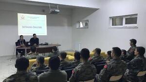 Askerlere intiharı önleme eğitimi verildi