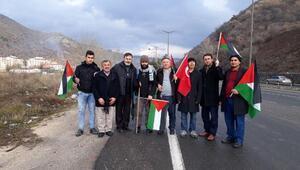 Yürüyerek Kudüse giden Nurettin Koç, Kızılcahamamda