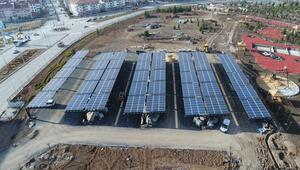 Şehir Parkı'nın  enerjisi güneşten