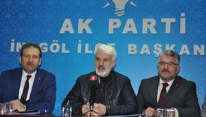 AK Partili Şahin:Erdoğan gibi bir liderle beraber çalıştığımız için rabbime şükrediyorum