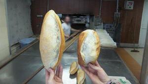 Ekmek oyununa dikkat Fırından alınca 250 gram, eve gidince 190 gram