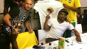 Dünya futbolunun efsanelerinden Kıbrıs seçimlerine yakın ilgi