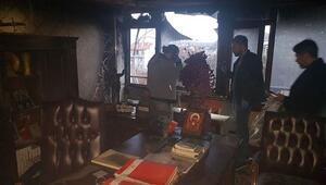 BBP Genel Merkezinde yangın