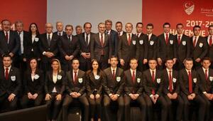 Spor Bakanı Bak, Demirören, Namoğlu ve Özbek, FIFA Kokart töreninde konuştu