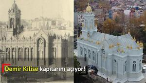 Demir kilise pazar günü açılıyor