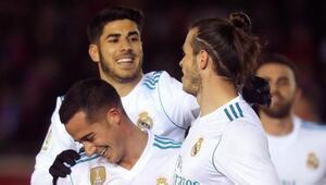 Real Madrid farklı kazandı Kupada doludizgin...