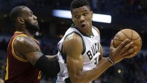 All-Star oylamasında Giannis, LeBronu geçti Stephen Curry...
