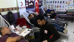 Altınkaya İlkokulu'ndan kan bağışı kampanyası