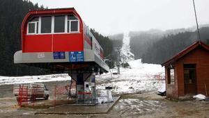Ilgaz Yıldıztepe Kayak Merkezinde sezon açılamadı