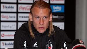 Hırvat futbolcu Domagoj Vida: Beşiktaşa söz vermiştim ve buradayım