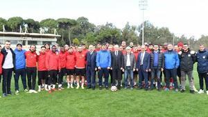 Balıkesirspor Baltoka Başkan Kafaoğlundan ziyaret