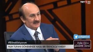 Nuh Tufanı hakkında en tuhaf iddia... TRTde yayınlandı