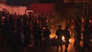 Nakliyeciler Sitesi'nde sabaha karşı tahliye gerilimi...