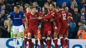 Merseyside derbisi Liverpoolun