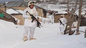Karadeniz yaylalarında komandolar eksi 7 derecede terörist arıyor