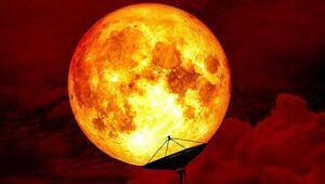 150 yılın en büyük gökyüzü olayı Kanlı Mavi Ay Tutulmasının sonunda hayatınızı değiştirebilir