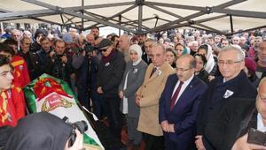 Gazeteci Turgut Özdemir, son yolculuğuna uğurlandı