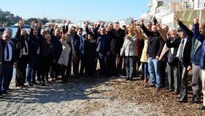Bodrumda 150 kişi, MHPye katıldı