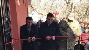 Kaymakam Özcan, Okul ve Kütüphane açılışını yaptı