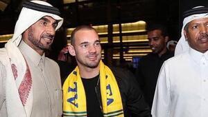 Sneijderden Katar açıklaması
