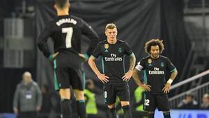 Real Madrid yine kayıp Barça ile fark 16 puan...