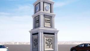 Altınözüne Saat Kulesi yapılıyor