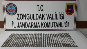 Zonguldakta 4 bin yıllık sikke ele geçirildi