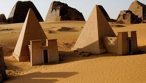 Sudan'ın 'saklı hazinesi' piramitler